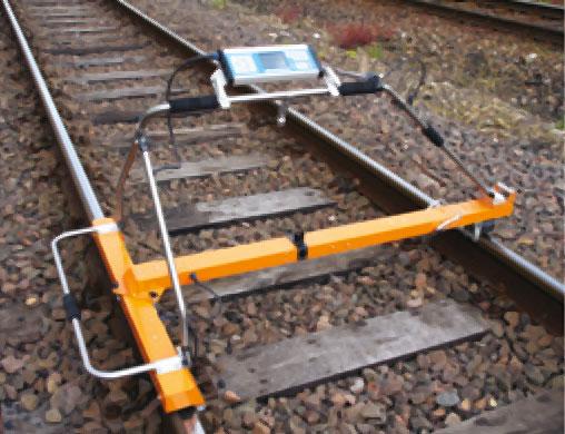 Graw appareil de mesure et contr le de g om trie des voies ferr s et des roues - Regle pour mesurer ...